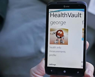 Сервис HealthVault больше не поддерживает Windows Phone
