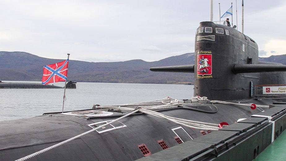 подводная лодка св георгий победоносец